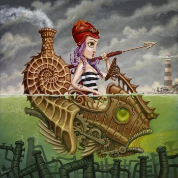 Nautilus Girl by tat2pooch