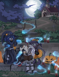 Happy Halloween 2013 by Chibi-Nuffie