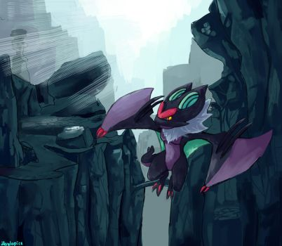 Noivern by Haylapick