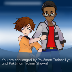 Trainers Lyn and Shawn