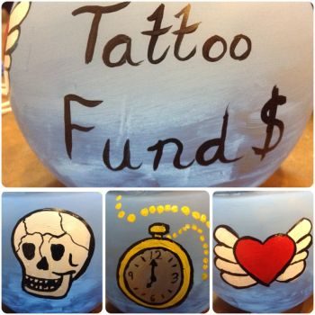 Tattoo fund jar by Leanneisme