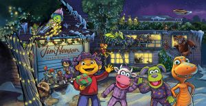Henson Holiday card part 2 by lazesummerstone