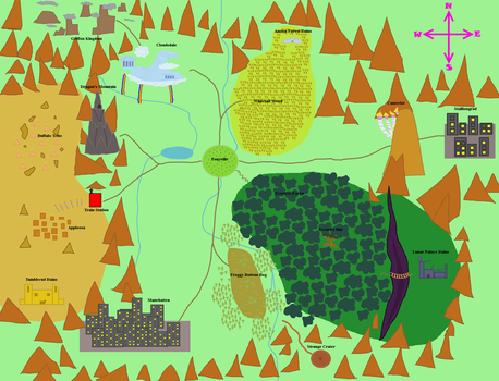 Equestria Map by Tornado5000170
