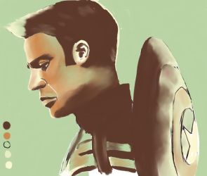 Palette Meme - Steve Rogers by That70sshowlova