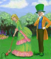 Croquet Compliments by mjOboe