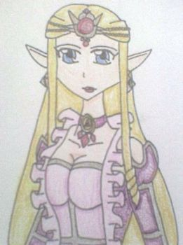 Queen Zelda Atrineas by Punisher2006
