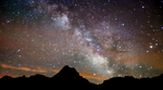 Milky Way above the mountains by Mitch65