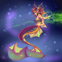 Alexstrasza The Life-Binder (Mermay Day 9) by Crazyaniknowit