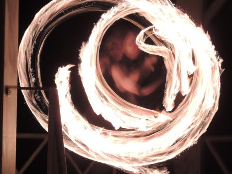 Imbolc Fire Dancing 8 by RobBarker