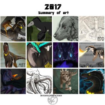 Montly Overview 2017 by InterfectorFactory