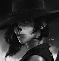 Undead rider portrait 04 by zano