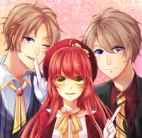 EE: Working Trio! by ayaring