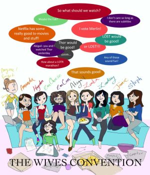 The Wives Convention by lady-em