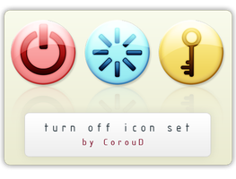 Power Icon Pack by CorouD