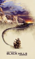Mountain poster by T3hSpoon