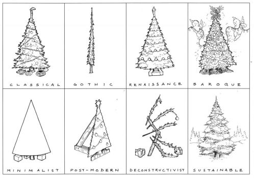 Arch History of the X-mas Tree by subtle-design