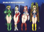 Girls of FI by Niicko by sodacan