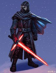 Kylo Ren by TheLivingShadow