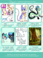 My Commission Pricelist by Fayven