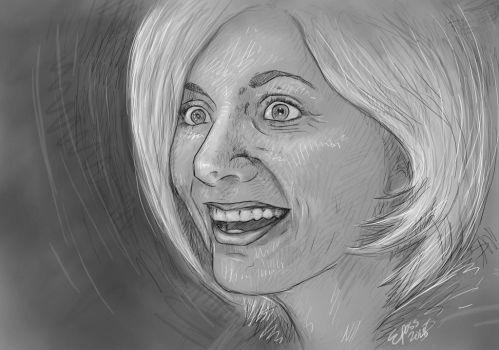 Jodie Whittaker/The Doctor by Phantom-Lexicon