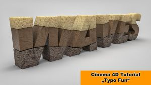 Typo Fun (Cinema 4D Tutorial) by NIKOMEDIA