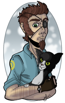Oliver's Cuddly Side by Disdainful-Loni