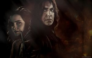 Severus and Hermione No. 5 by SeverusSnapesAngel