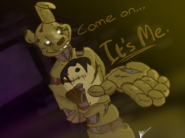 Trust Springtrap... by ThatAlbinoThing