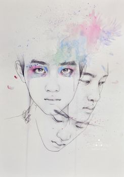 Water Lily - D.O. by e11ie