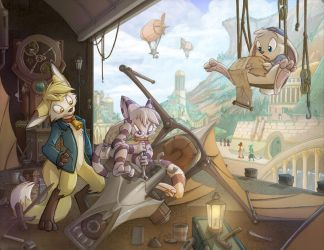 Commission 10- Fixing to Fly by Dreamkeepers