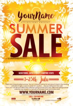 Summer-Sale-Flyer by Styleflyers