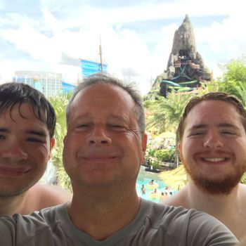 Me and my family at Volcano Bay by hamursh