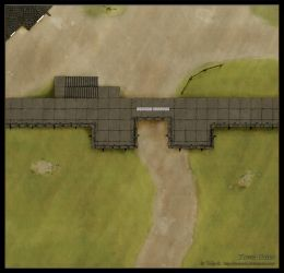 DnD Battlemap - The Town of Glister by YoSpeck