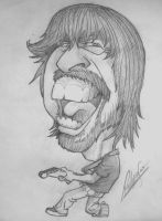 Dave Grohl by Pulgarso
