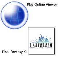 FFXI and PlayOnlineViewer Icon by Miingno