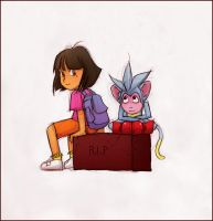 Dora and Boots Moment by Windam