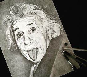 Einstein by emicathe