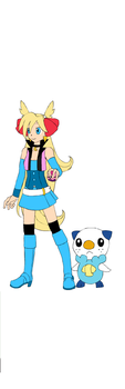 My pokemon trainer by luckystarrose