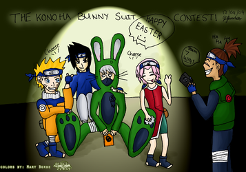 TheBunnySuitContest - COLLAB by Ashayami