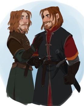BROTHERS FROM GONDOR by AgentDax