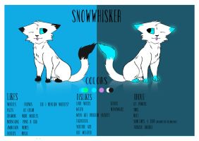Snowwhisker Ref August 2016 by SnowOwO