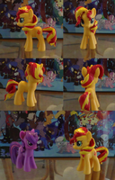 Sunset Shimmer Custom by himanuts