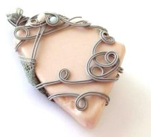 Selkie Song Pendant no. 7 by sojourncuriosities