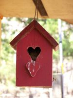Red Heart Birdhouse01 by effing-stock