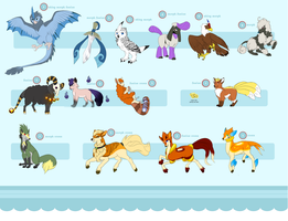 PKMNation:: Canines, Ungulates, and Avians [CLOSE] by Attack-At-Dawn