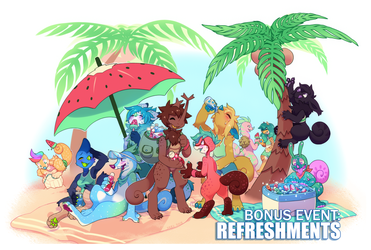 CLOSED - BONUS EVENT: Refreshments! by ground-lion