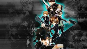 Psycho-Pass Wallpaper by Michalv