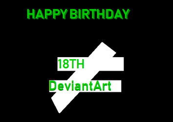 Happy Birthday DeviantArt! by NeonSofwareStudios