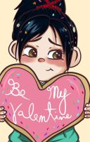 Be my Vanellope by AnnPoison