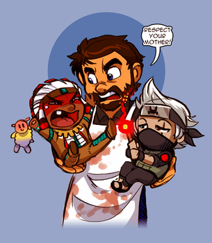 MotherBeef and Babies! by IntroducingEmy